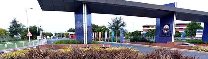 Bloemfontein Campus entrance
