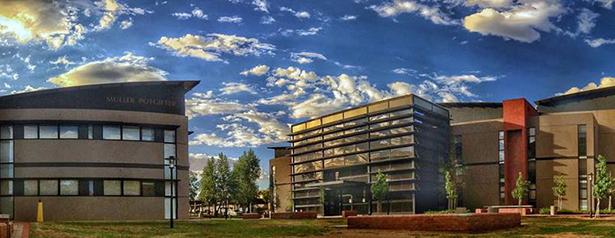 Bloemfontein Campus web page