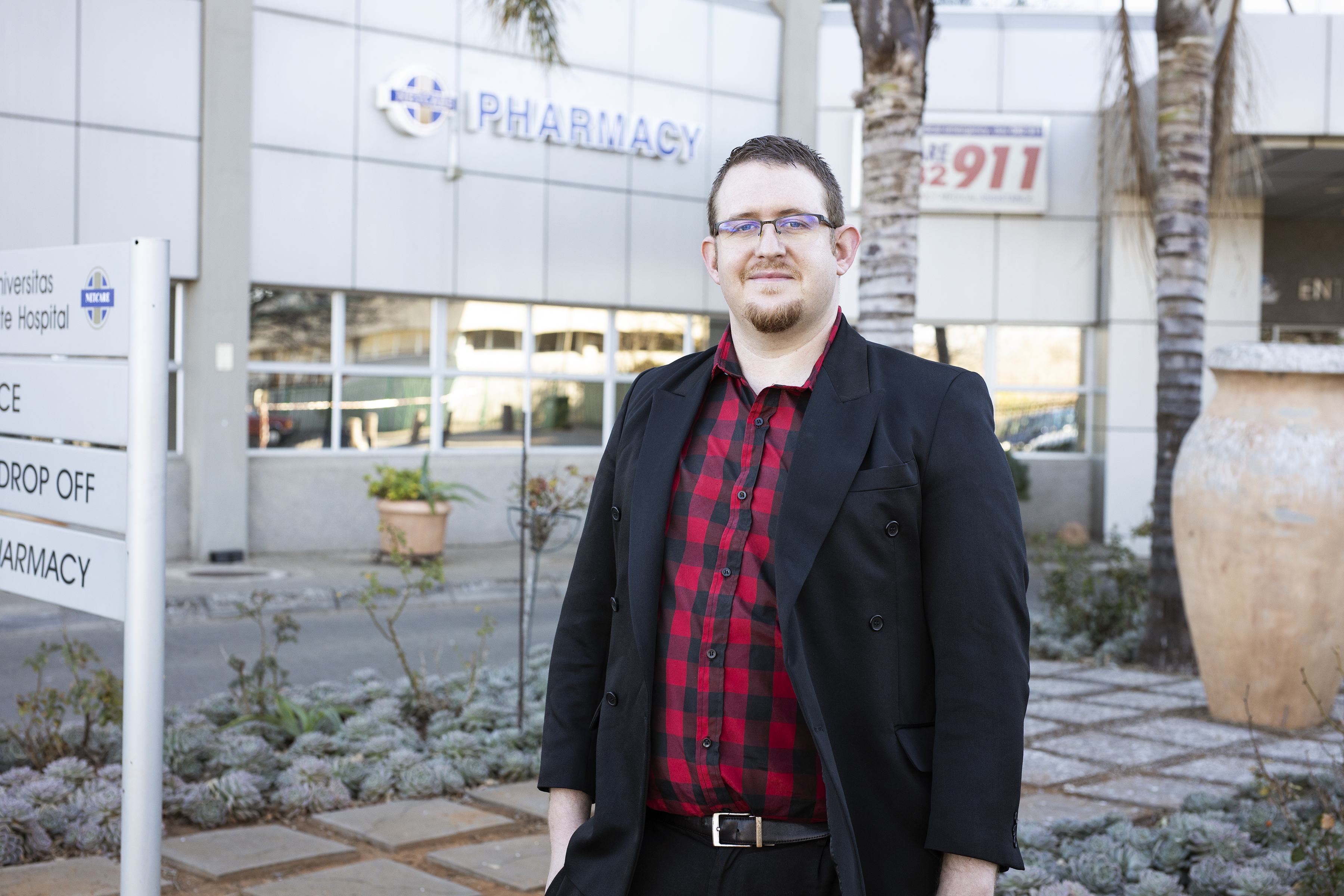 Herkulaas Combrink is the Interim Director of the UFS Initiatives for Digital Futures and PhD candidate in Computer Science at the University of Pretoria.