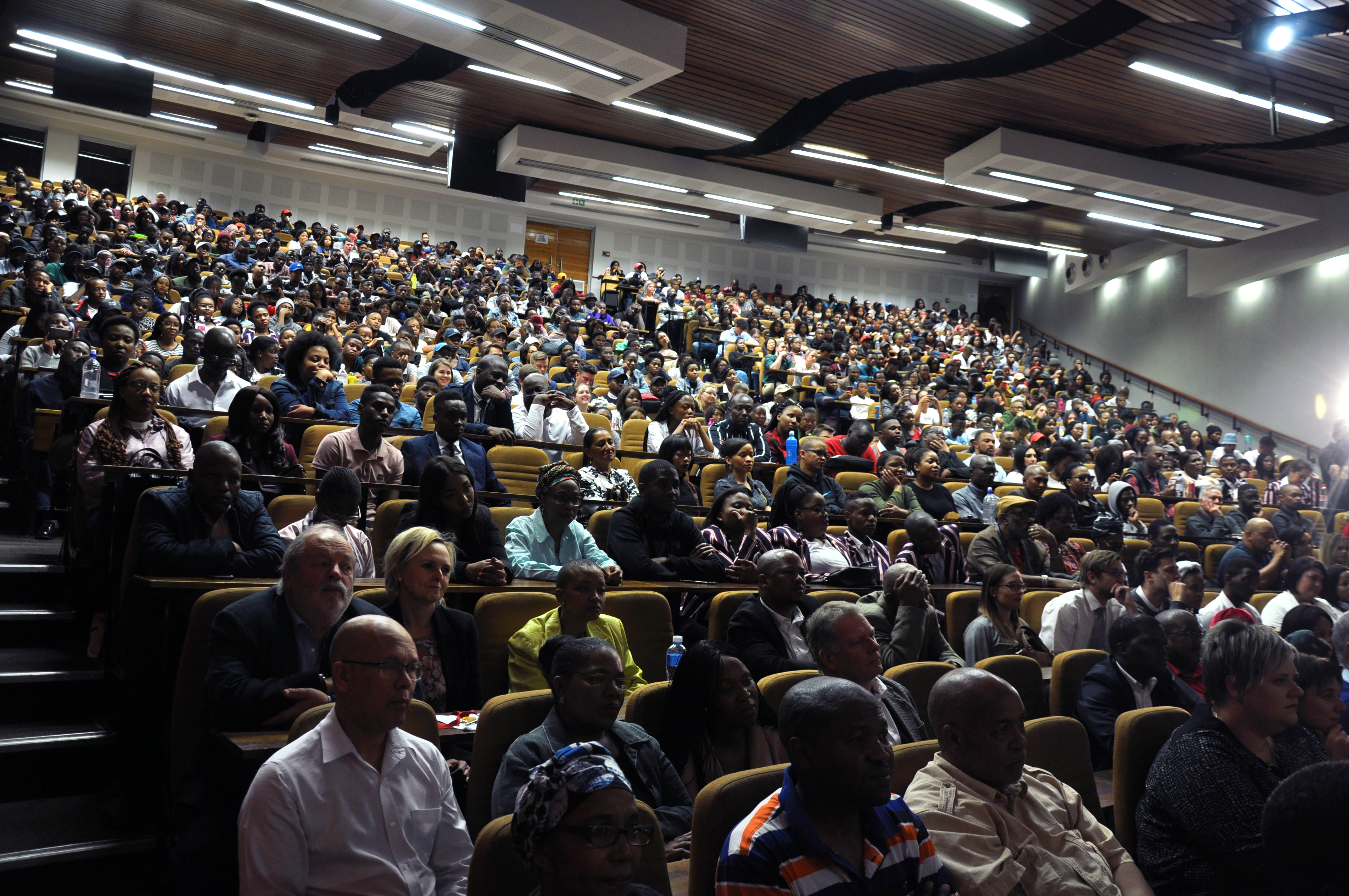 Audience at the Prestige Lecture