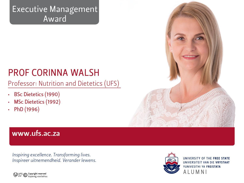 Prof Corina Walsh