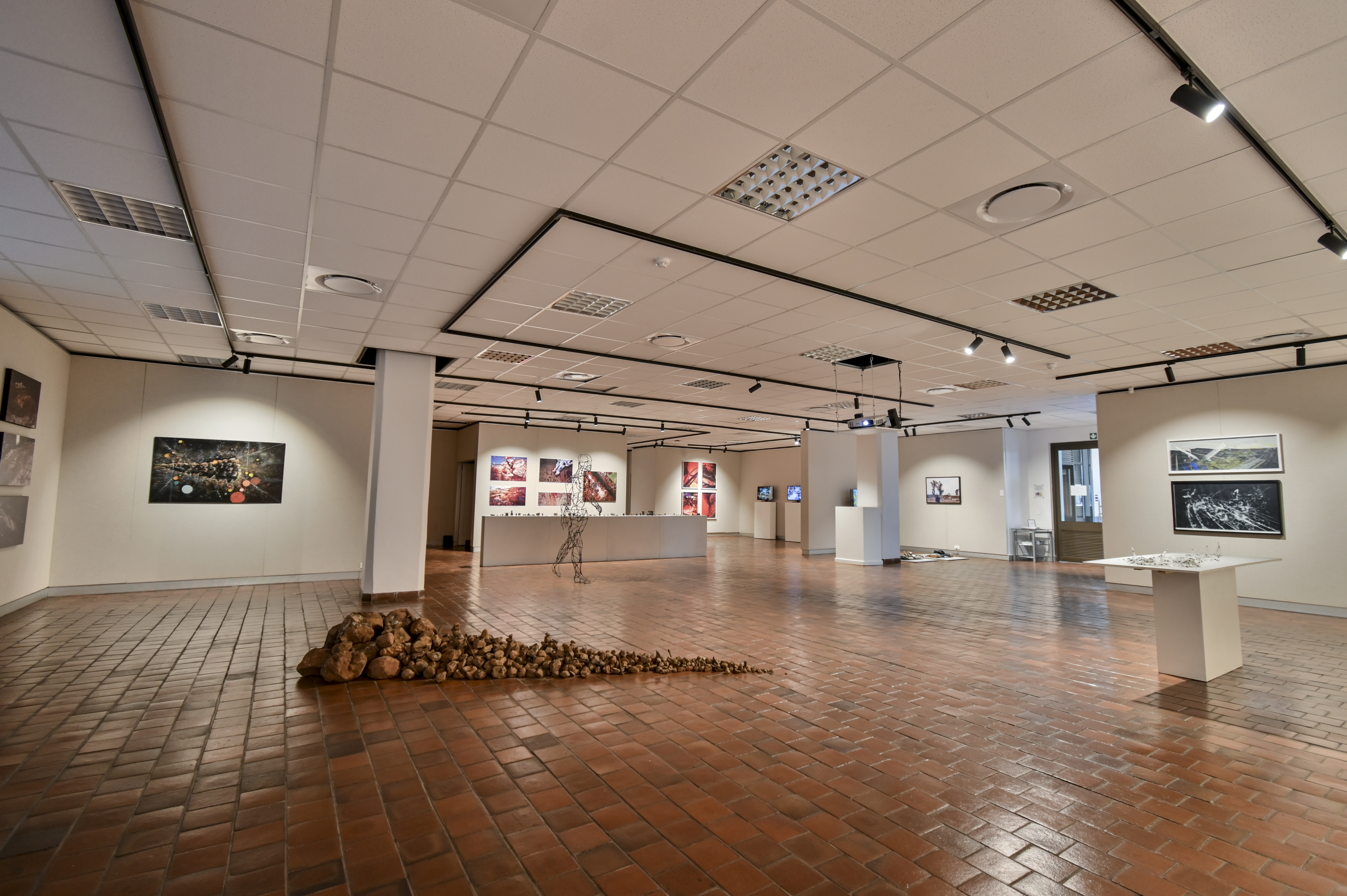 Final-year graduate exhibition at the Johannes Stegmann gallery