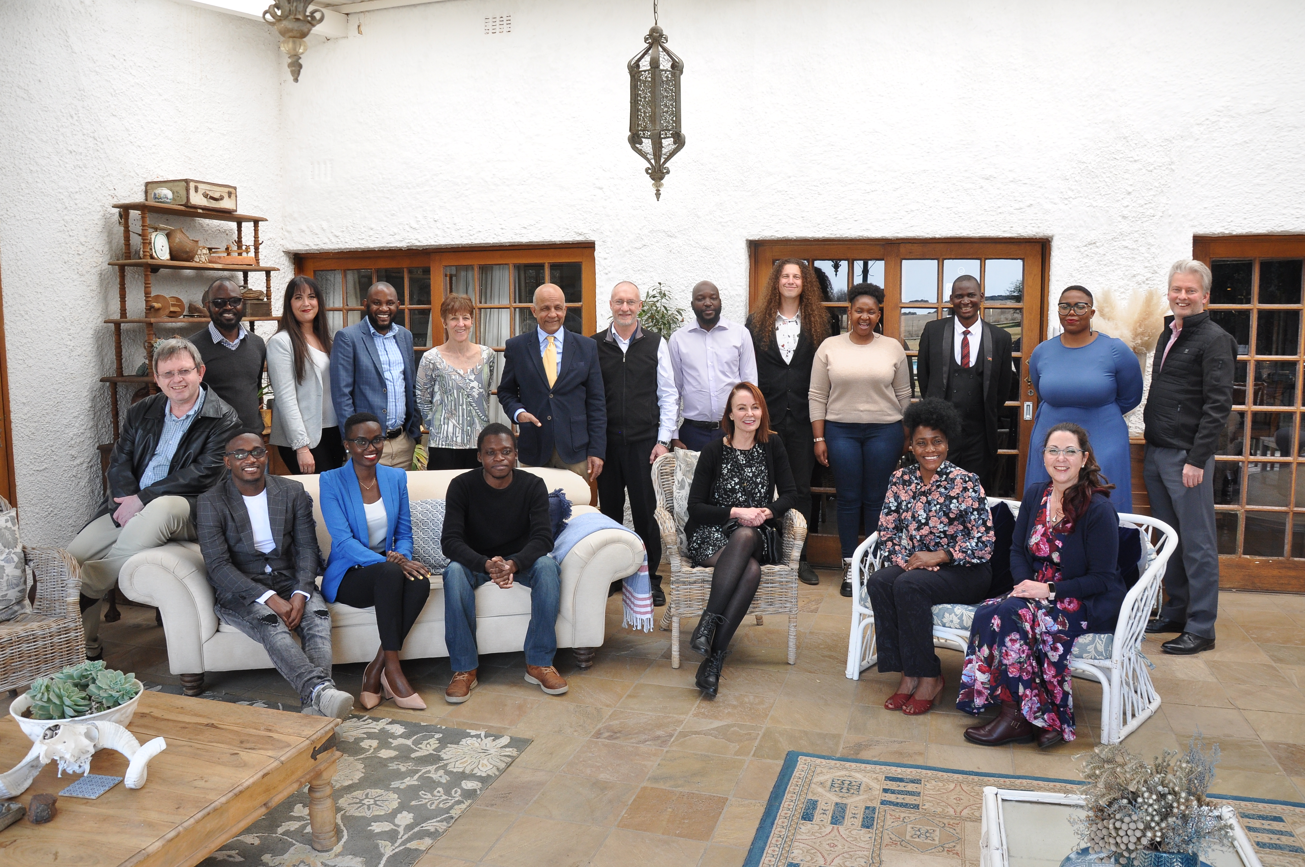The HEHD Research Group with guests at the colloquium.