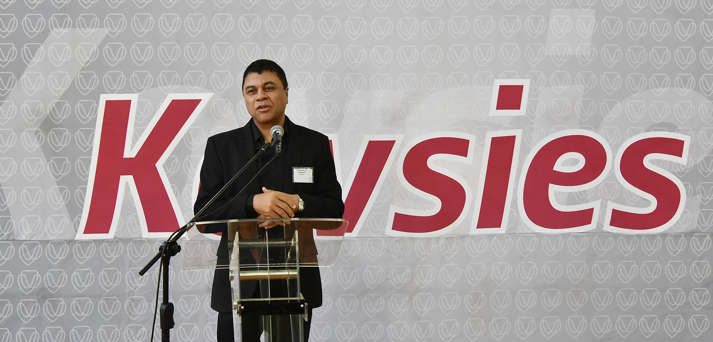 Prof Francis Petersen, UFS Rector and Vice-Chancellor