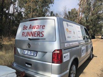 Transport for the #UFSRun4MentalHealth team