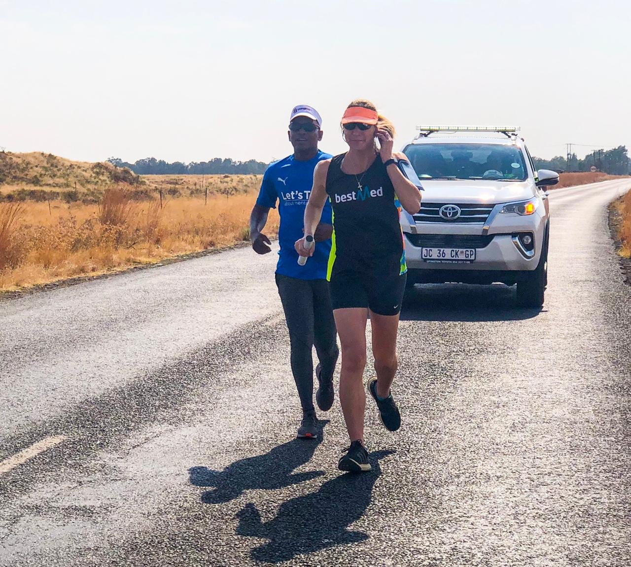 #UFSRun4MentalHealth runners