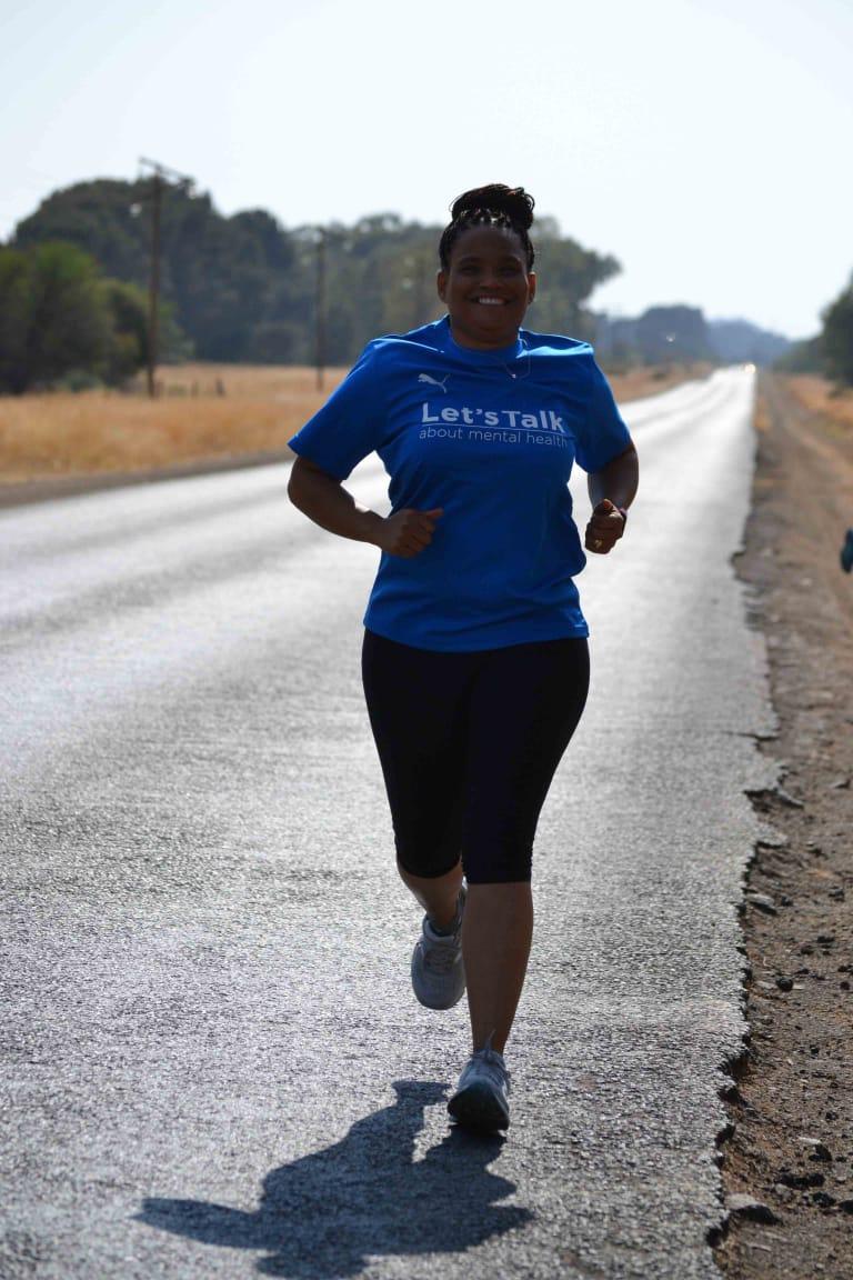 #UFSRun4MentalHealth runner