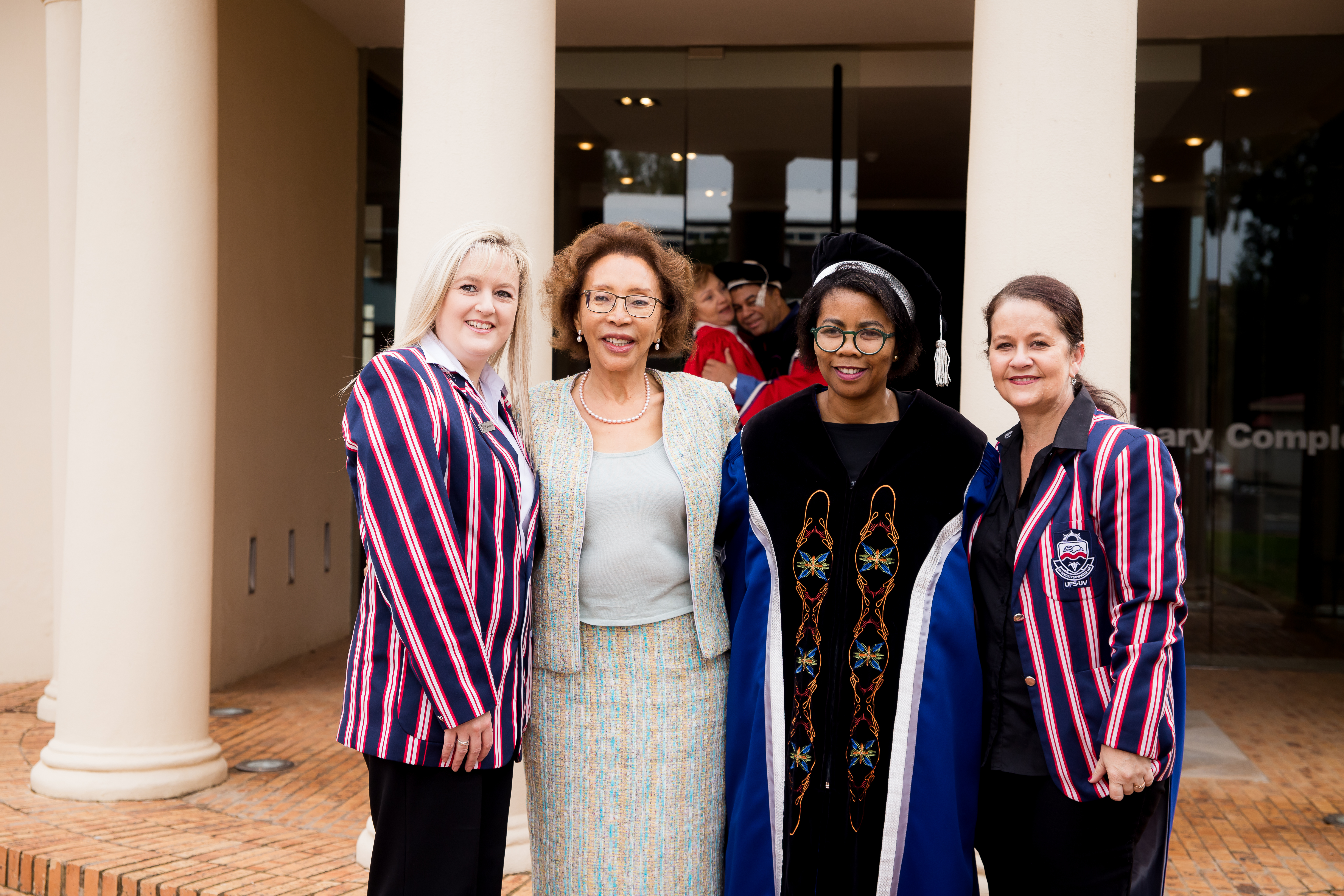 Zita Strydom, Dr Tsepho Motespe and Lacea Loader