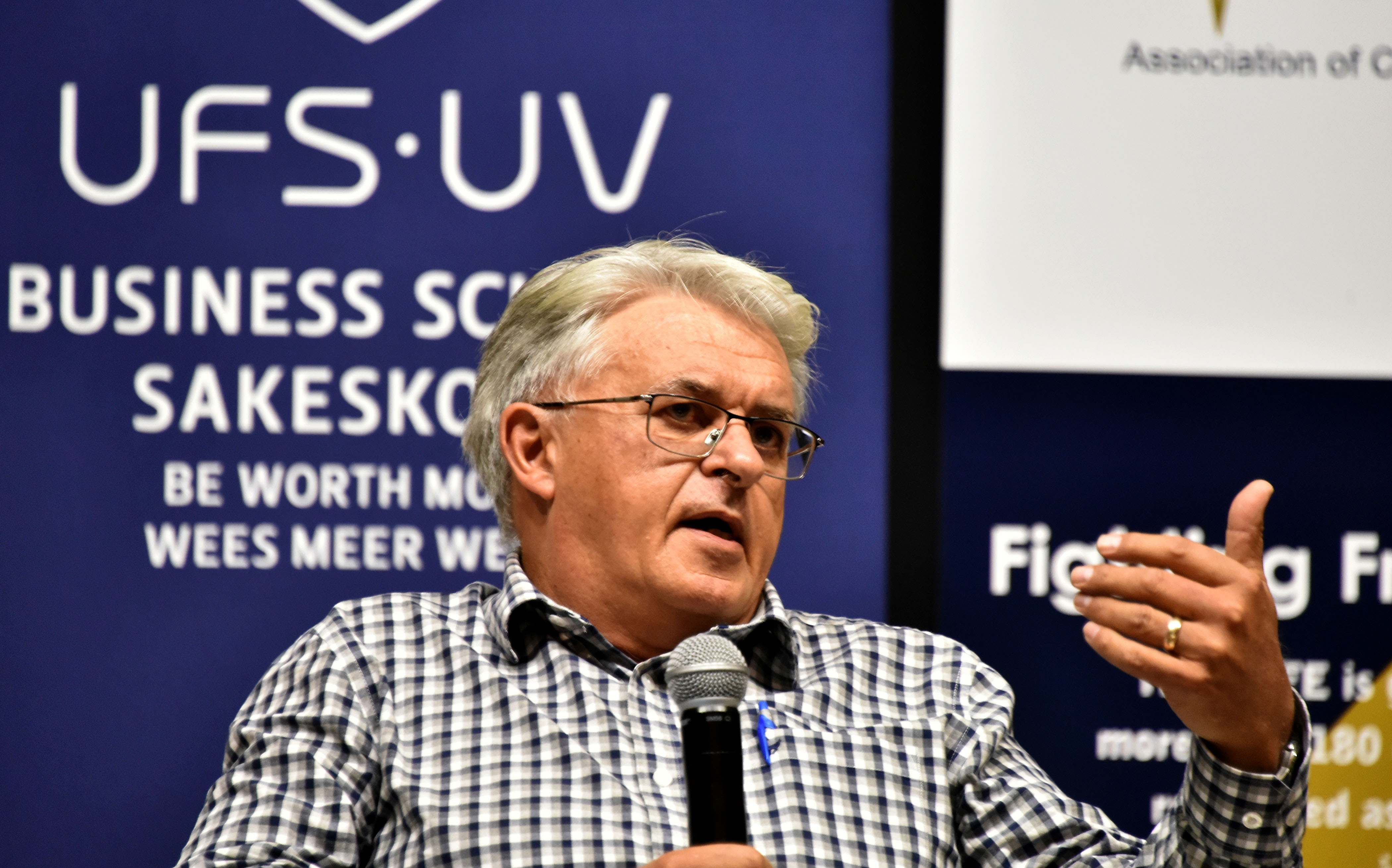 Pieter Roux from the UFS Business School