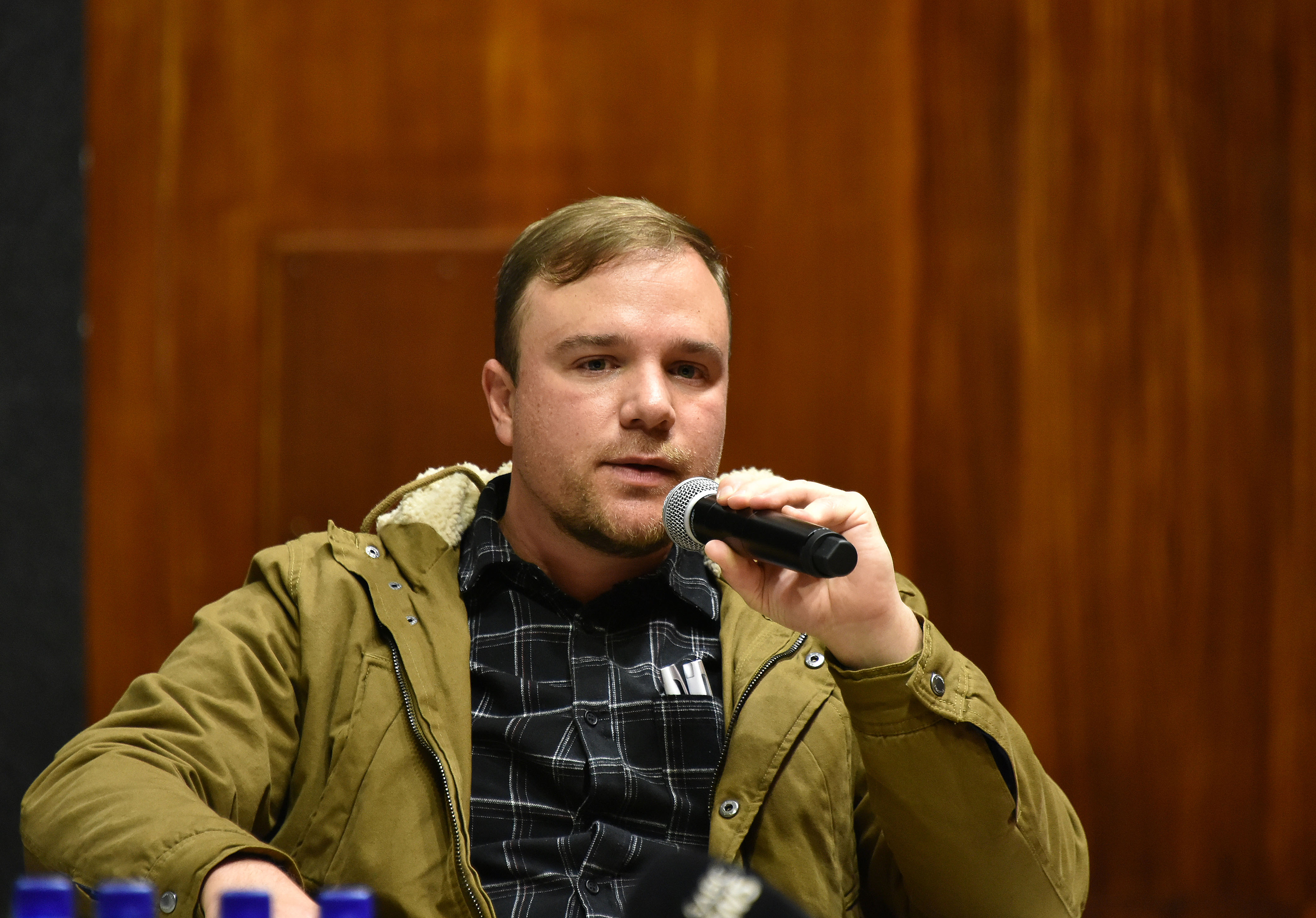 Pieter-Louis  Myburgh, author of #GangsterState