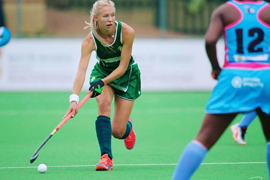 Hockey ladies play top of the league