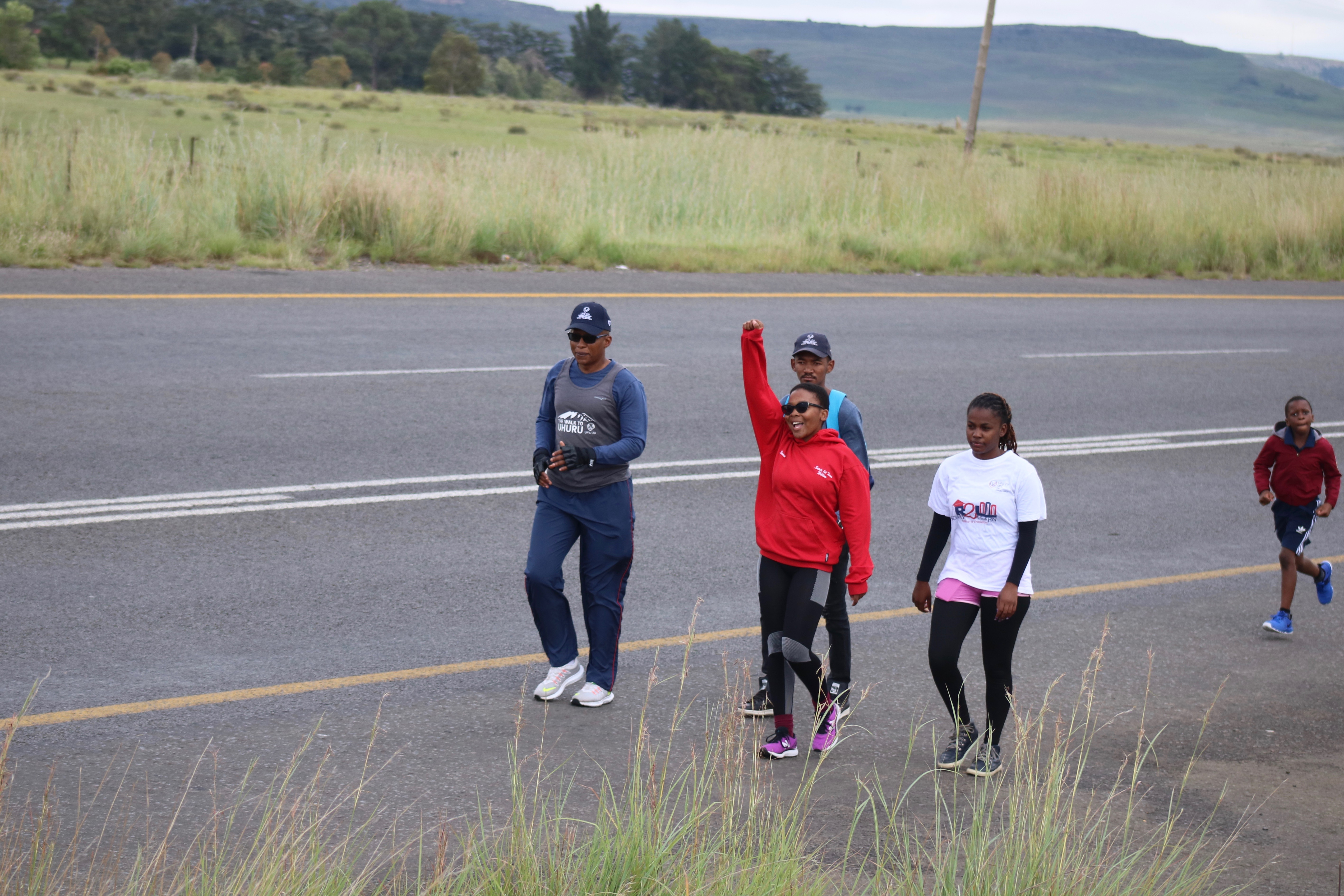 Final day of #UFSWalktoUhuru 2