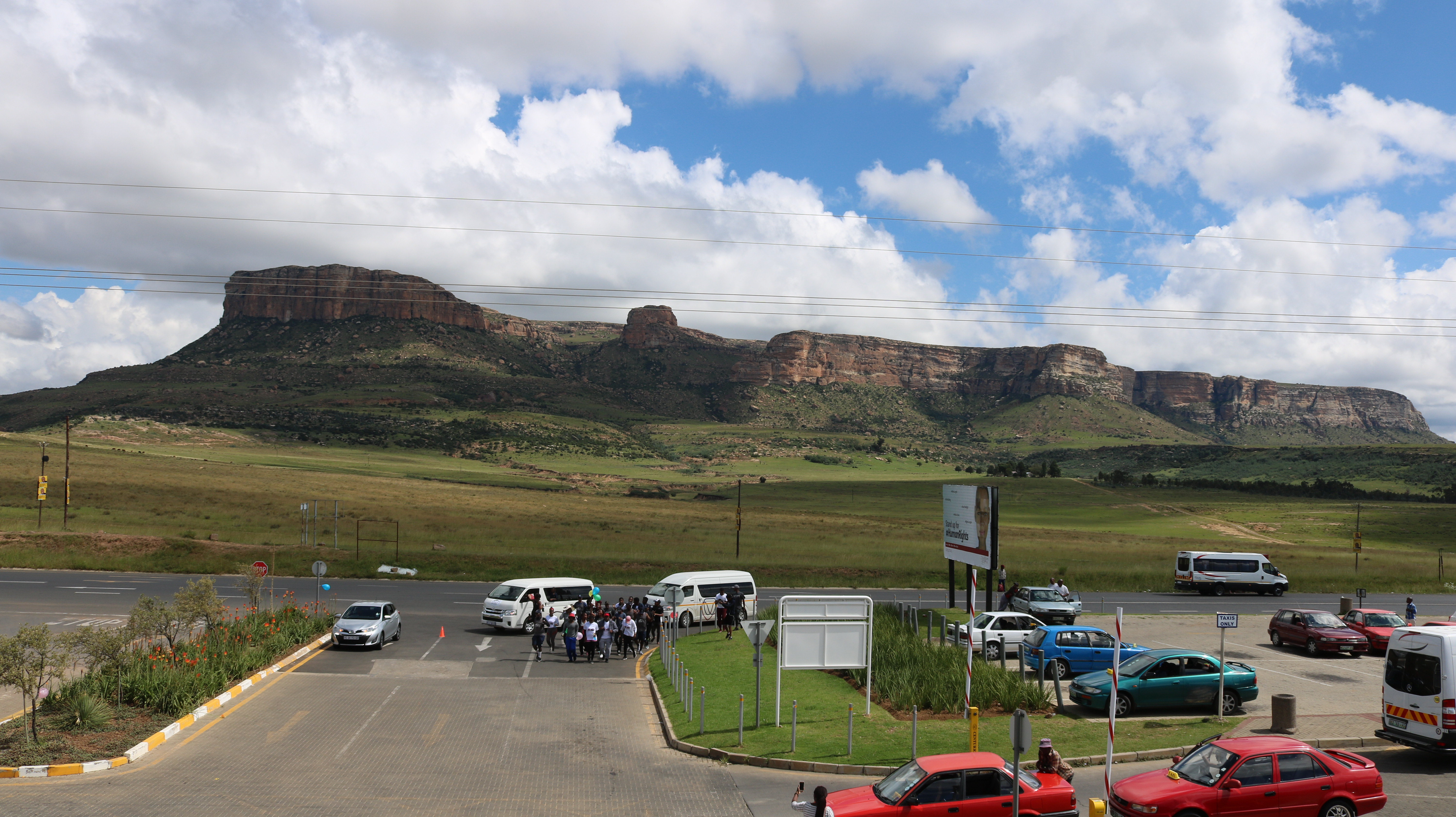 #UFSWalktoUhuru arrives the Qwaqwa Campus