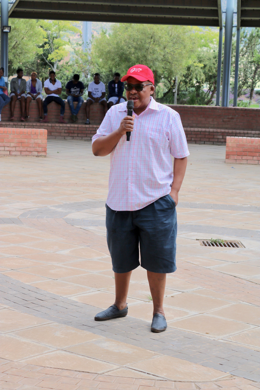 Dr Martin Mandew, Qwaqwa Campus Principal