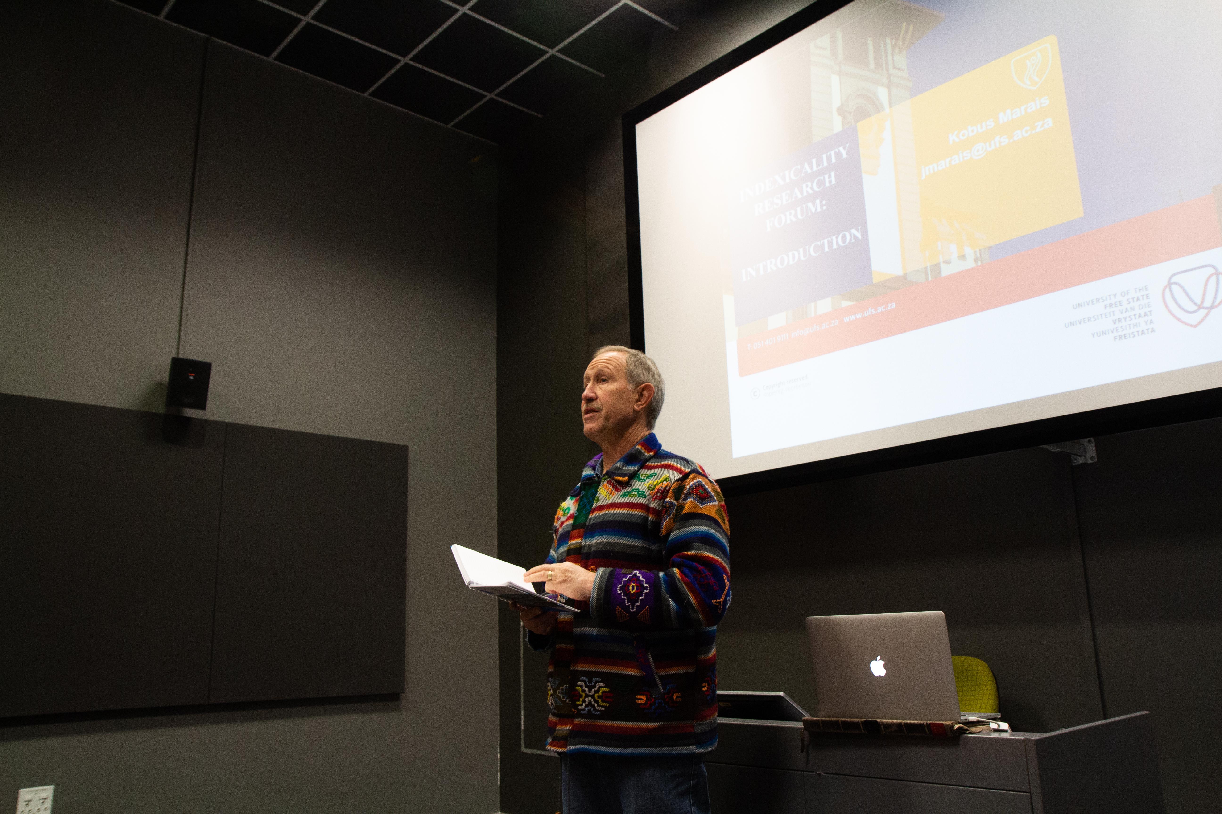 Prof Kobus Marais