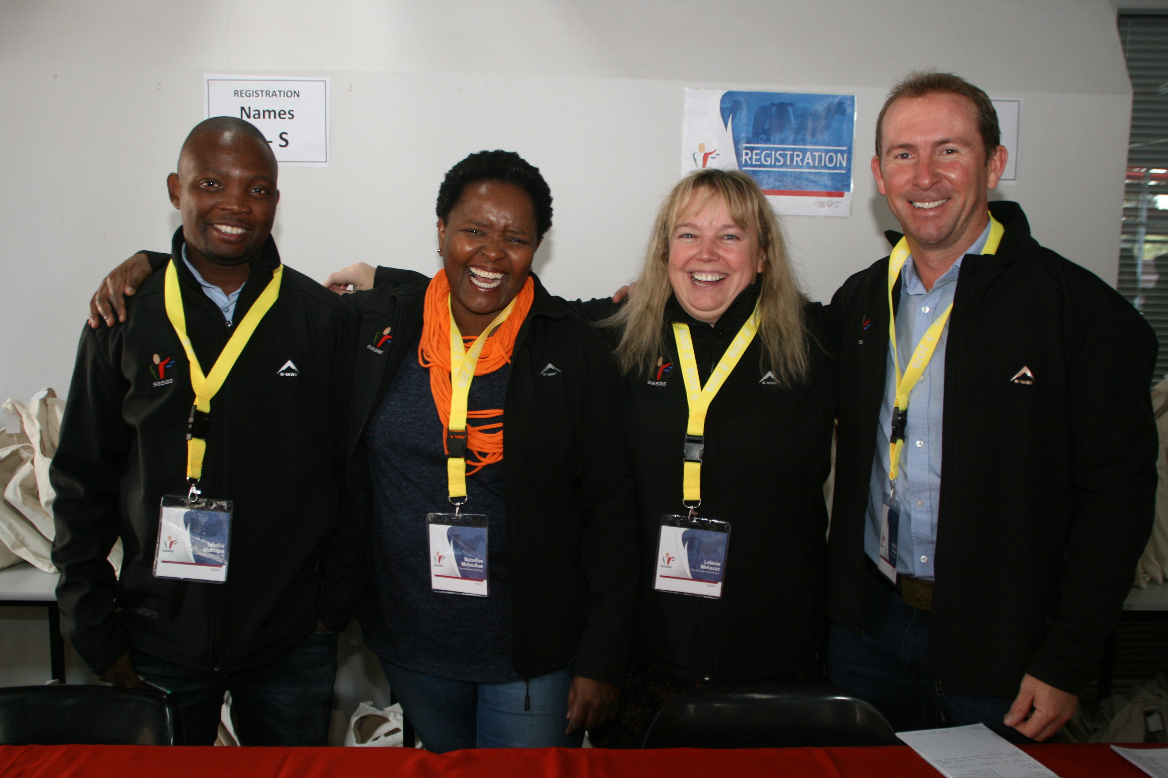 Delegates at the SASA Congress