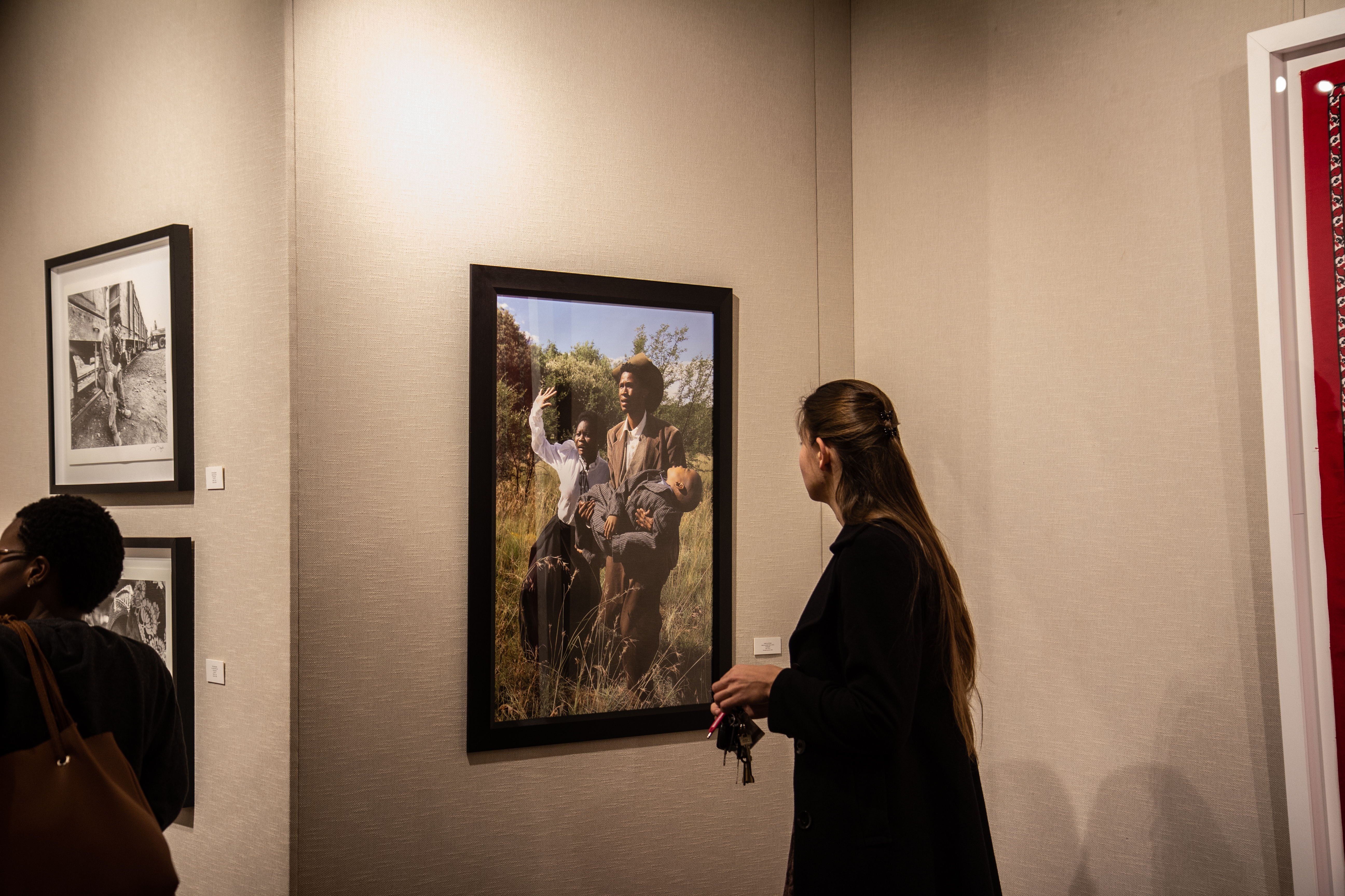 The opening exhibition on 28 August