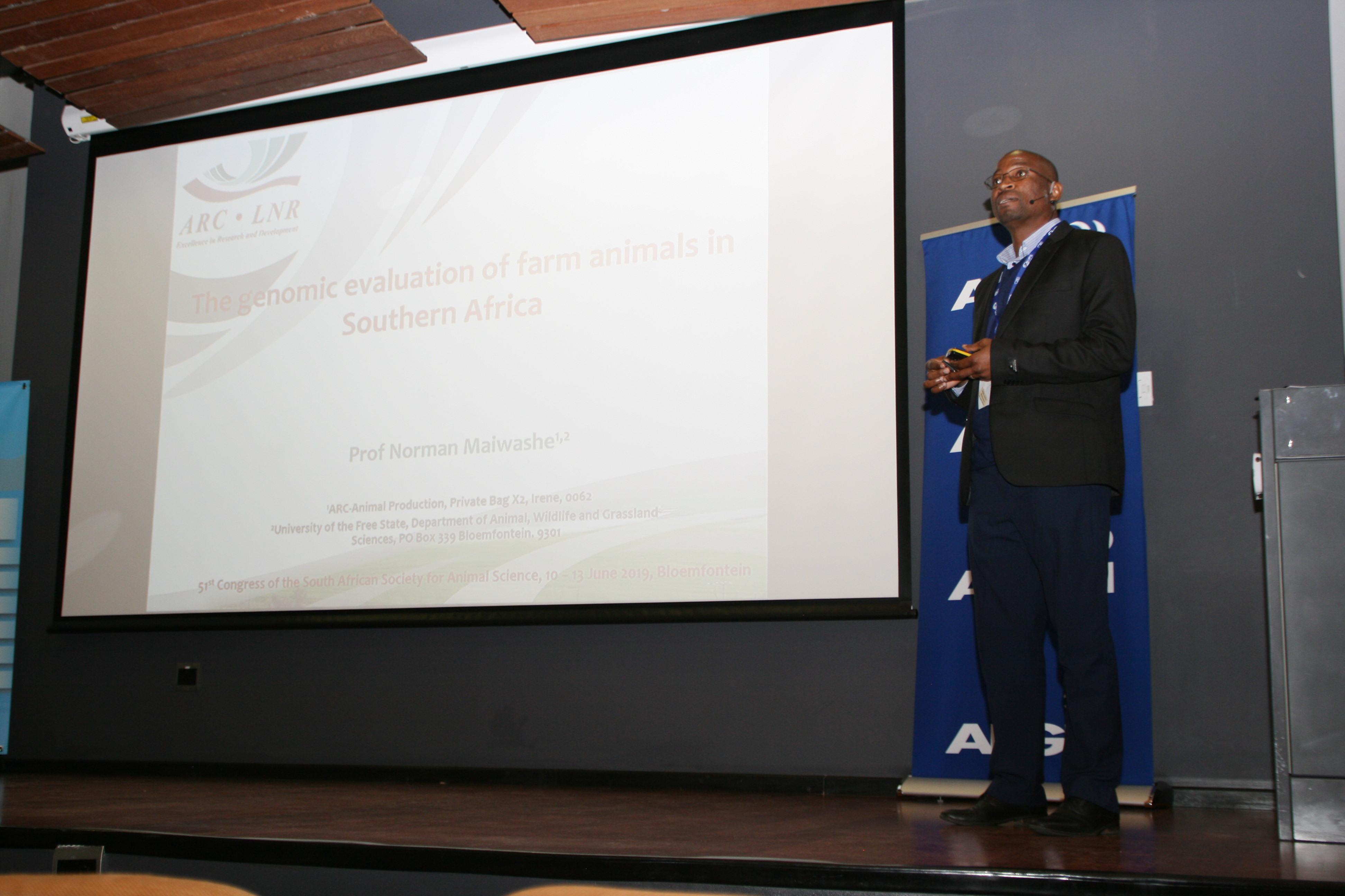 Prof Norman Malwashe