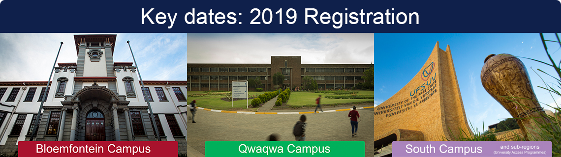 Key Dates for 2019 Registration