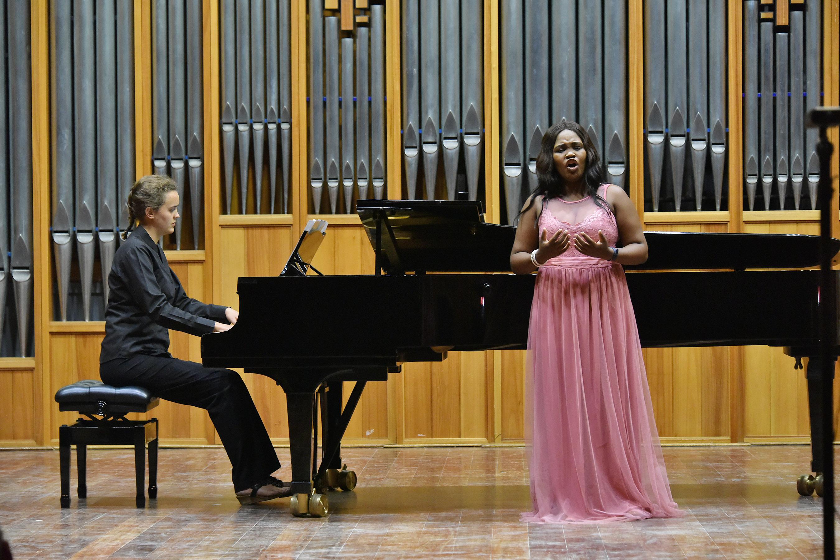 Mirriam Bokala (Soprano) and Margot Viljoen (Piano)