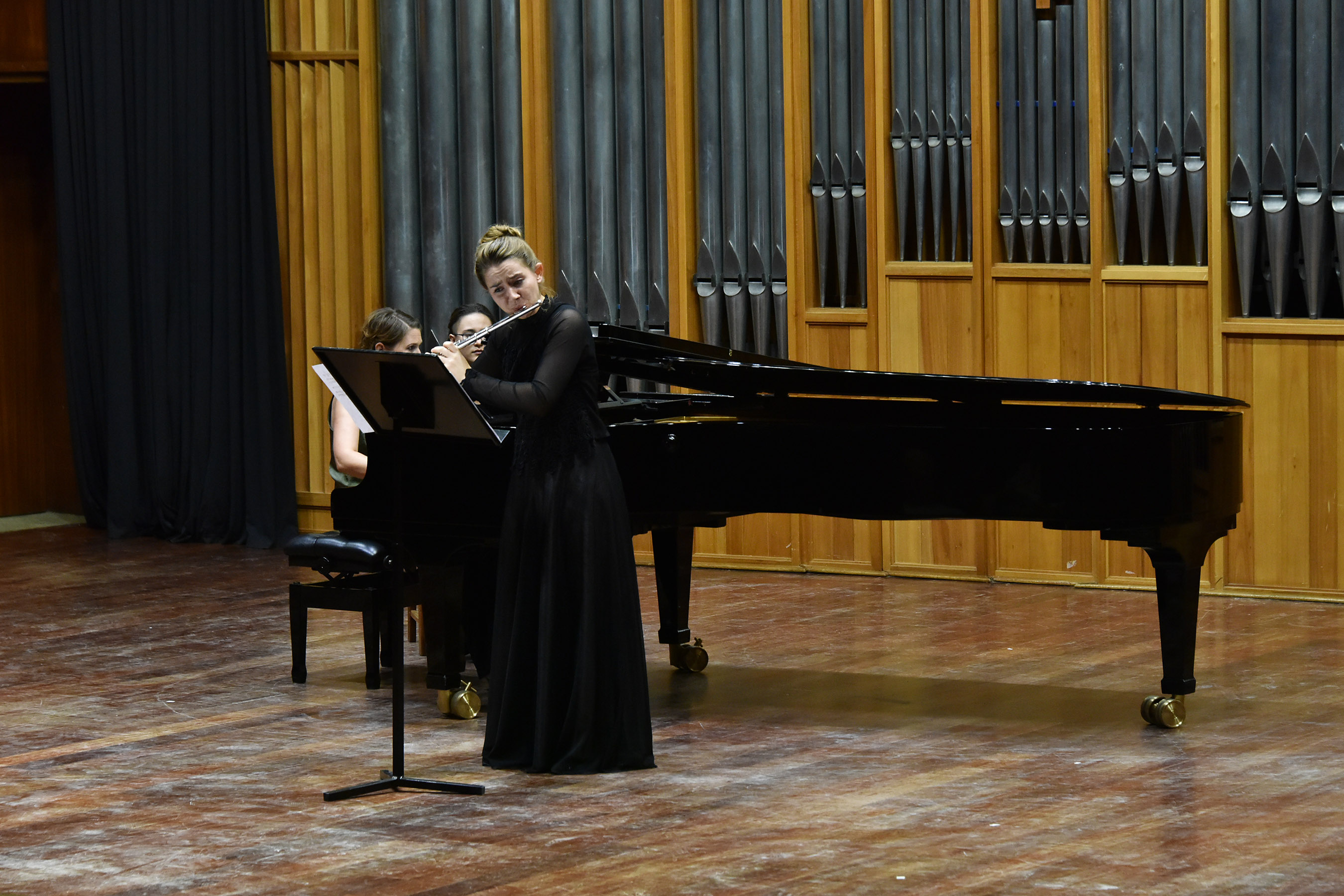 Nina Cilliers (Flute) and Lesley-Ann Matthews (Piano)