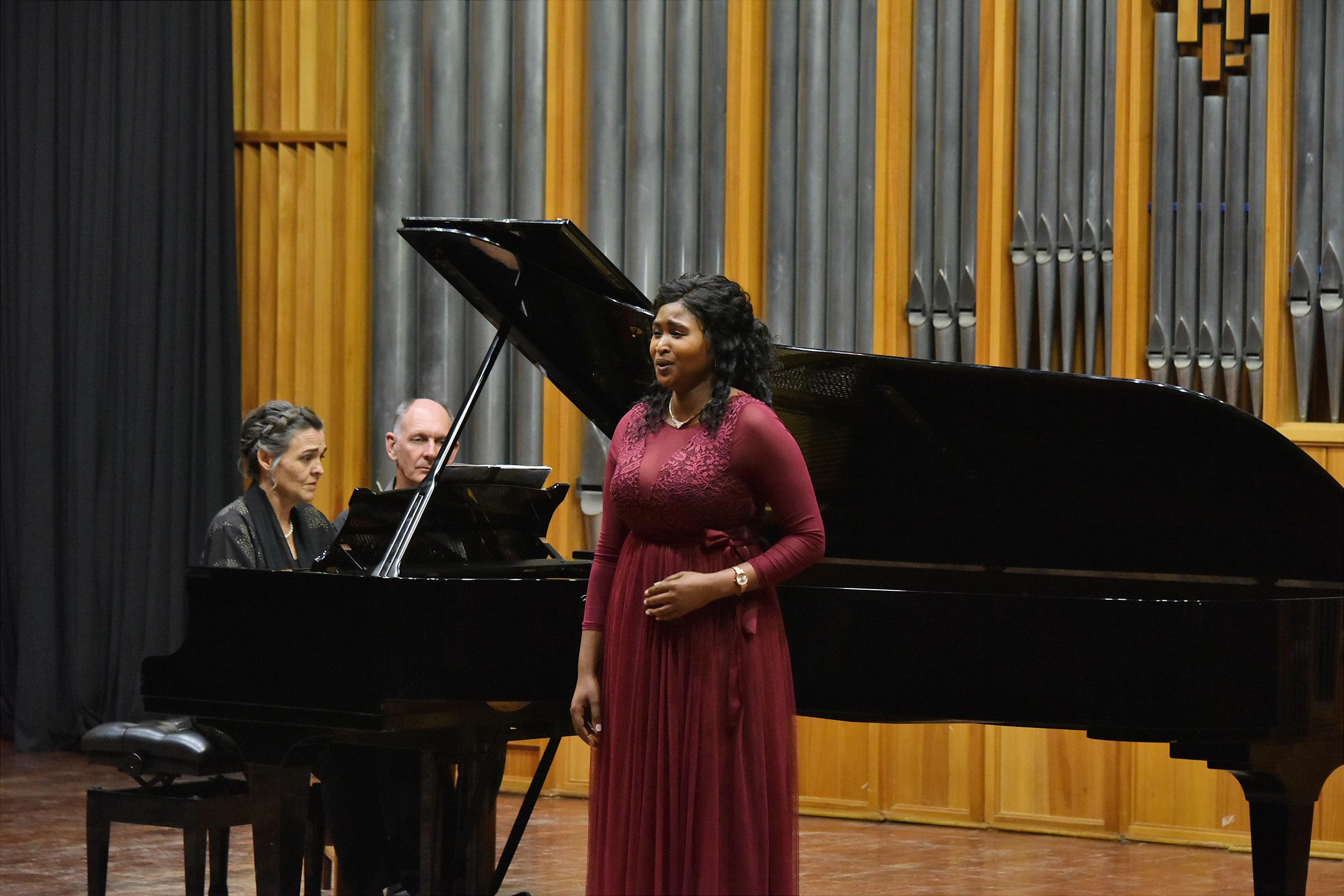 Charity Leburu (soprano) and Anneke Lamont