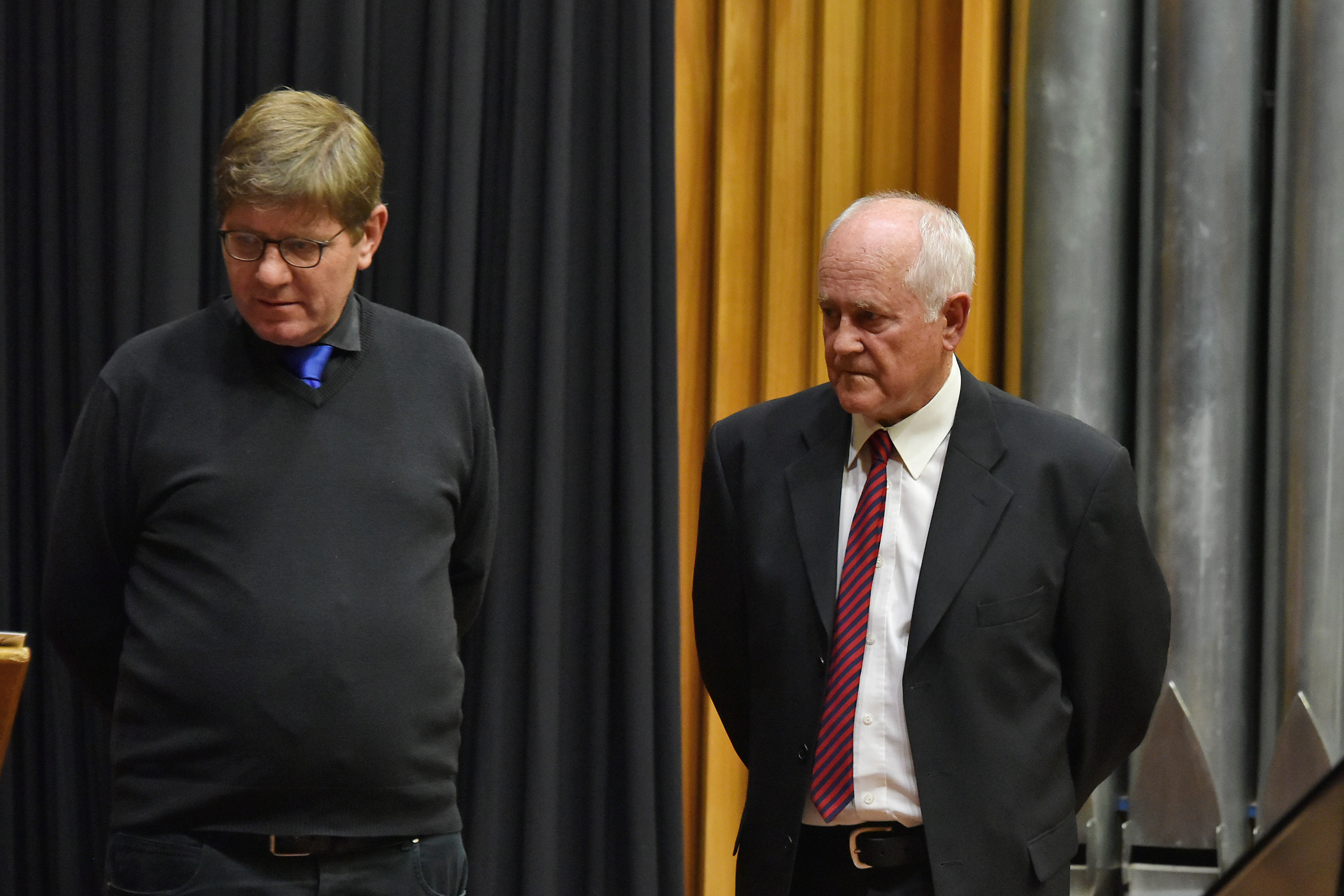 Dr Jan Beukes and Heinrich Armer