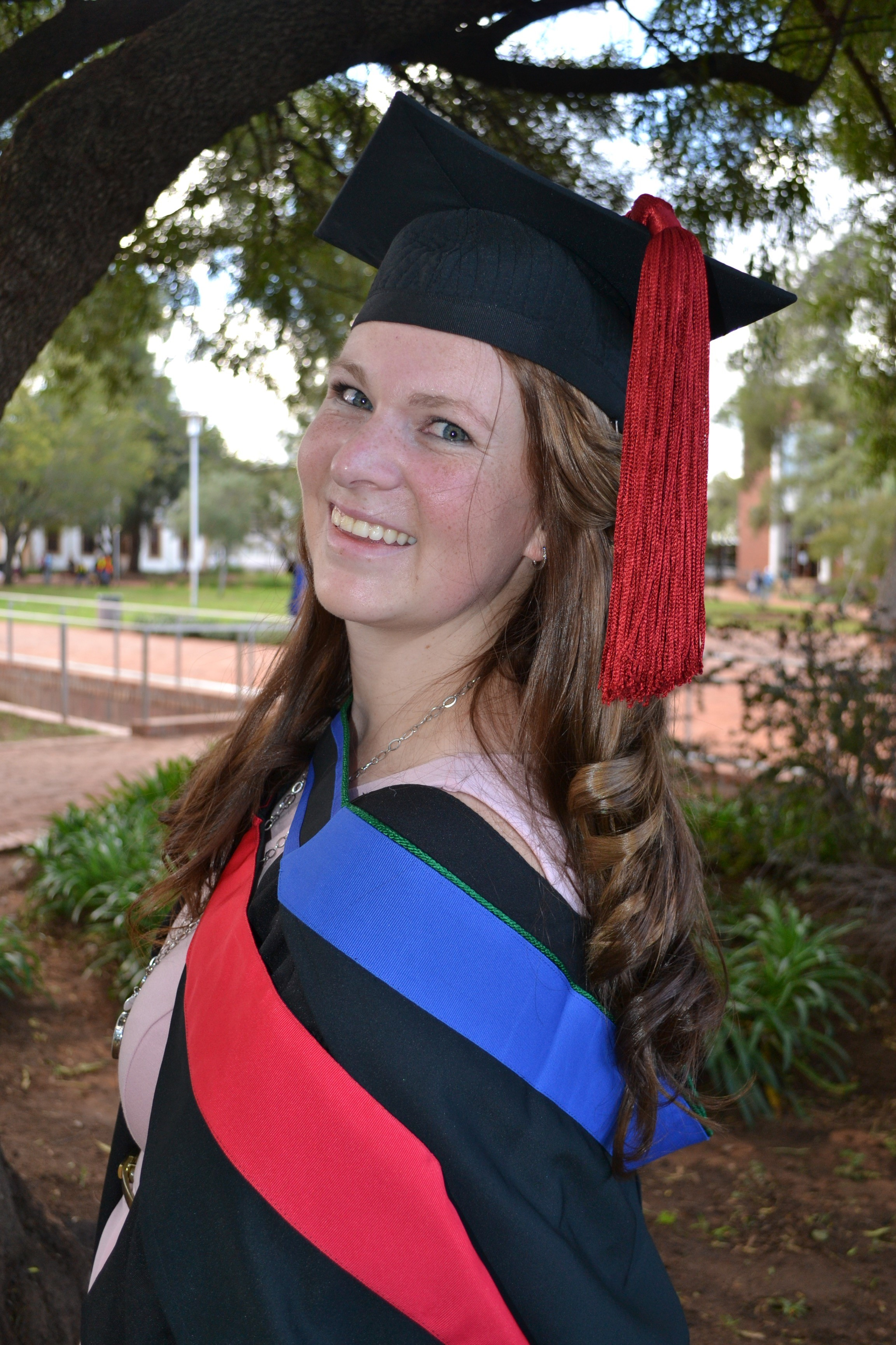 Kyla Dooley (Natural and Agricultural Sciences Faculty) was the first runner-up.