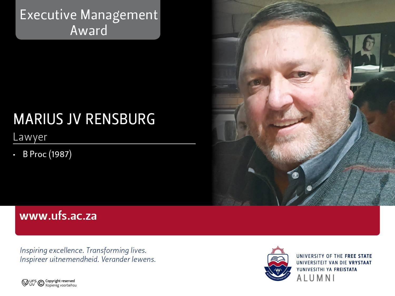 Marius Janse van Rensburg