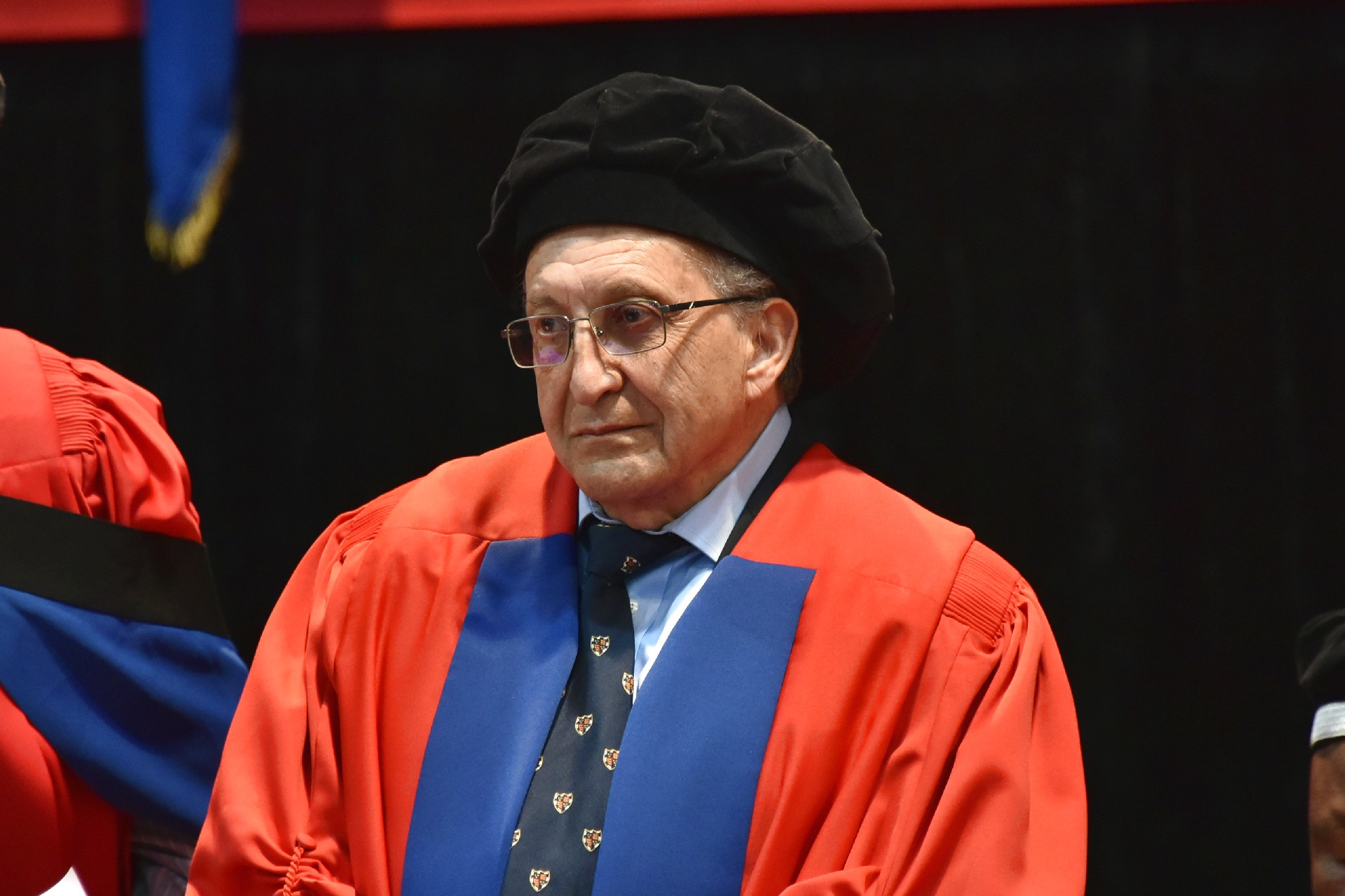 Dr Bernard Fanaroff, recipient of a Doctor of Science honorary degree