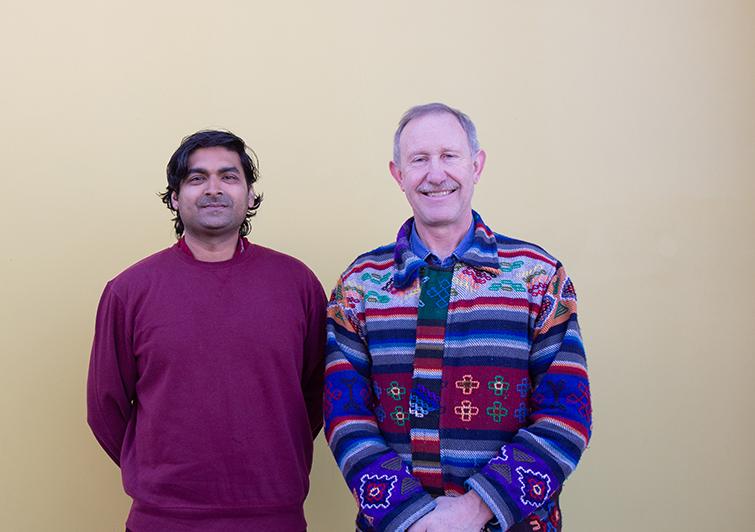 Prof Kobus Marais and Kavis Jawahar
