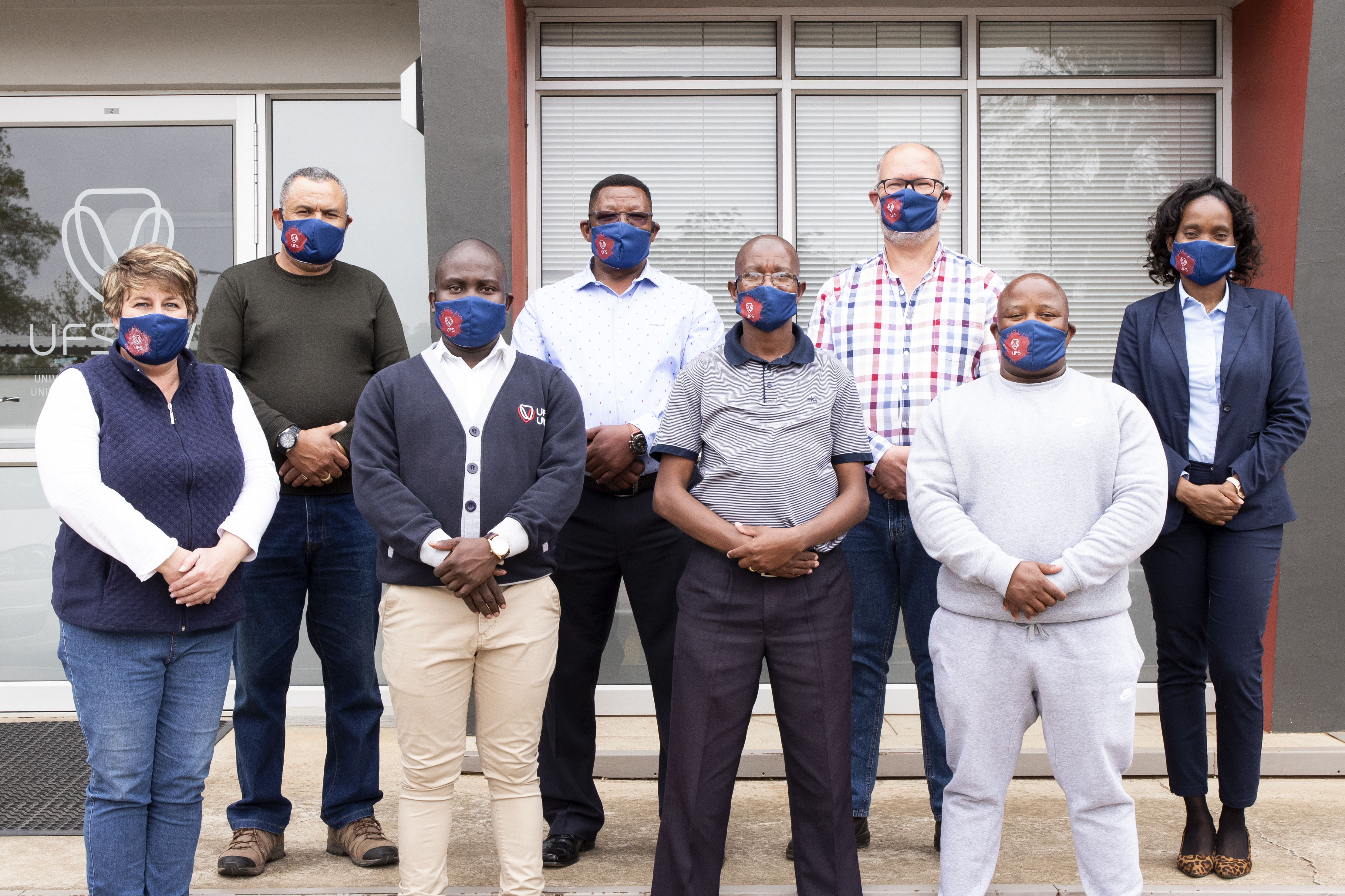 Bloemfontein Campus staff from Protection Services.