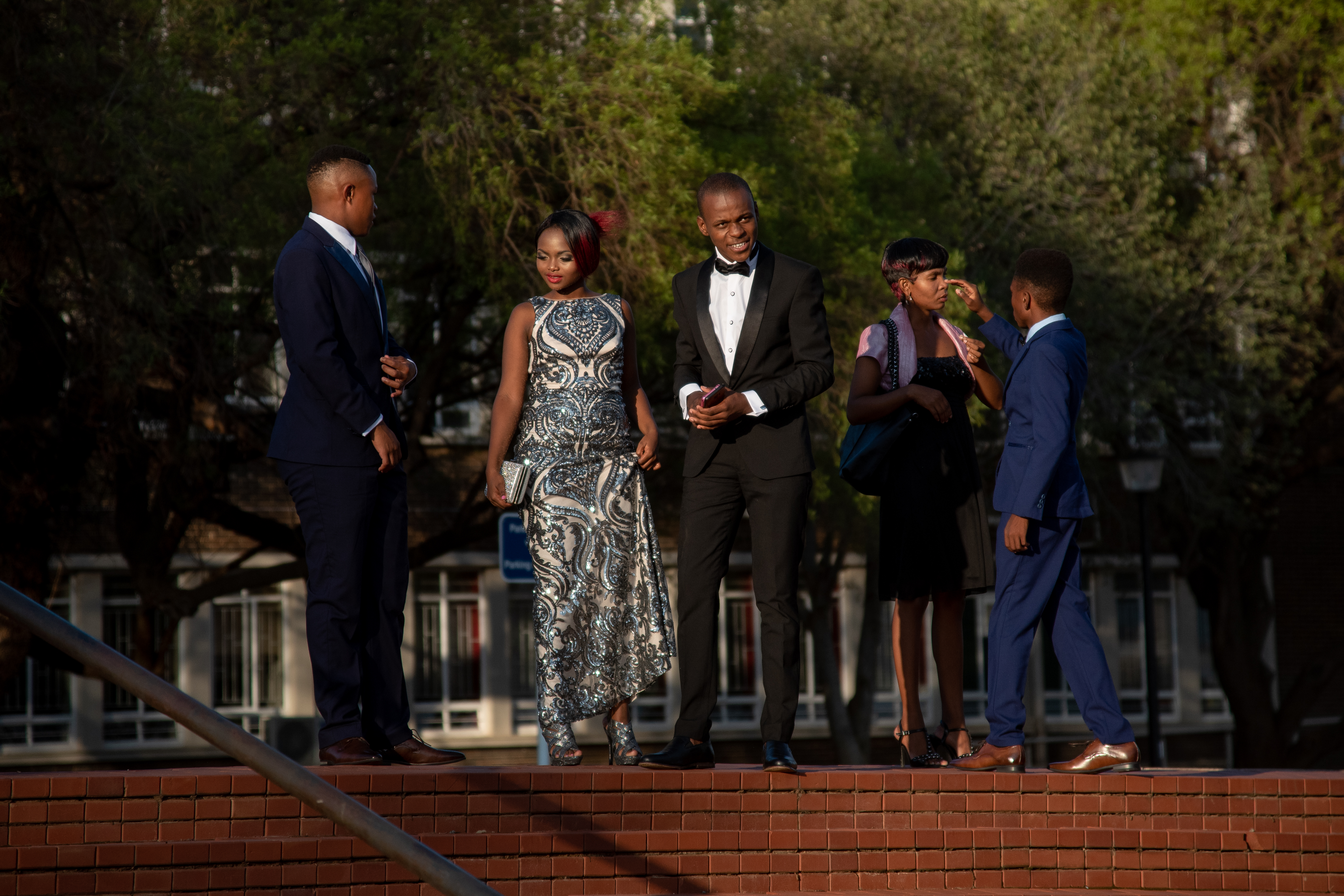 Guest arriving for the 2019 Star of Stars event on the UFS Bloemfontein Campus
