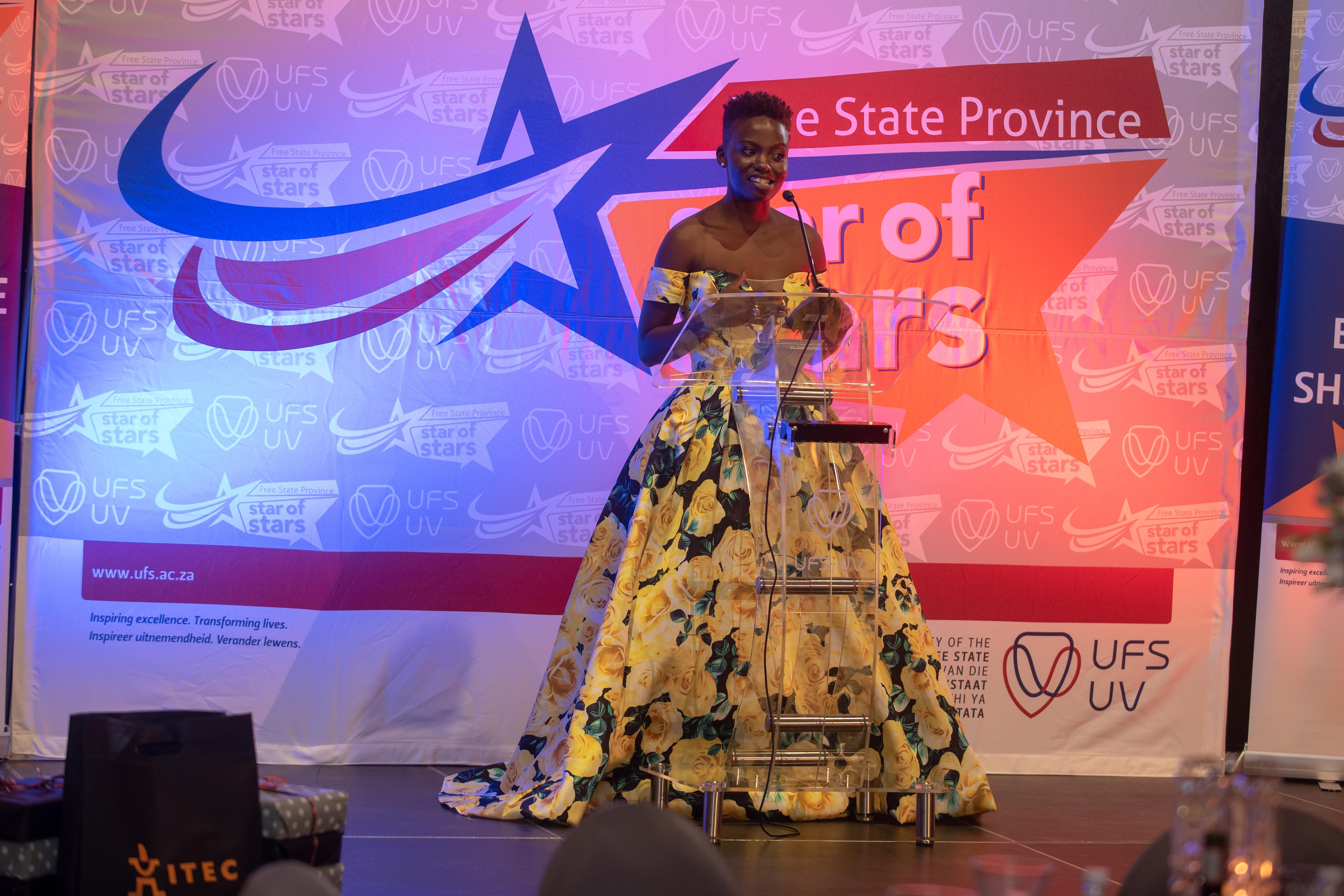 Helen Namponya, Master of Ceremonies.