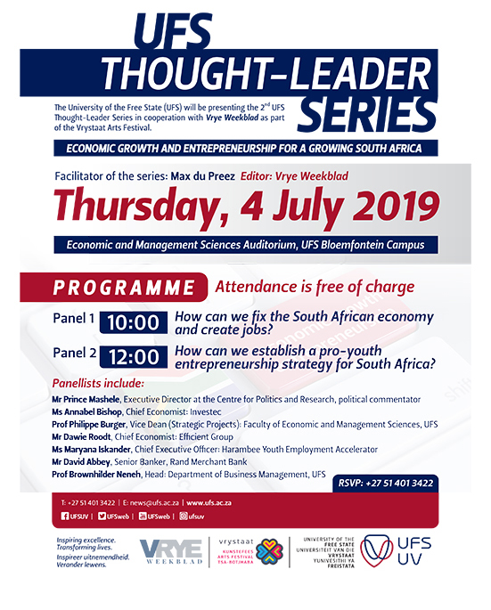 UFS Thought Leader series
