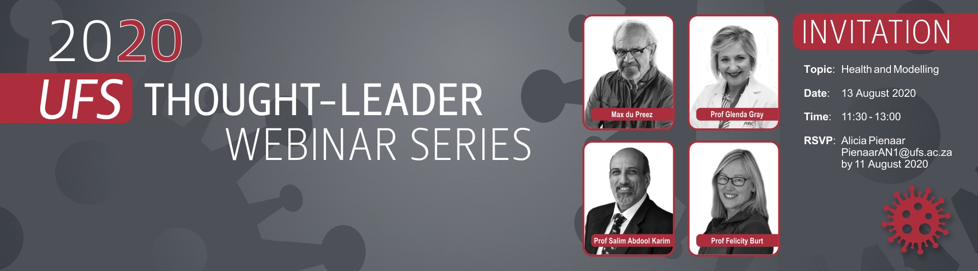 UFS thought-leader webinar series