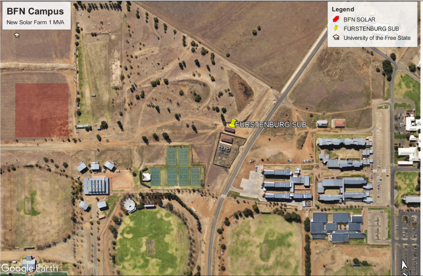 Solar energy is the future: new solar farm propels UFS into the Fourth Industrial Revolution.