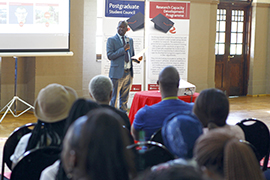 UFS postgraduate welcoming