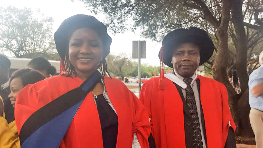 Dr Mutana and Prof Mukwada