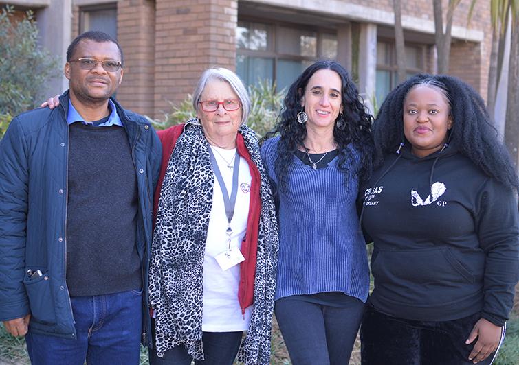Dr Tshepo Moloi Gille de Vlieg Prof Monique Marks Zama Khanyesa read more
