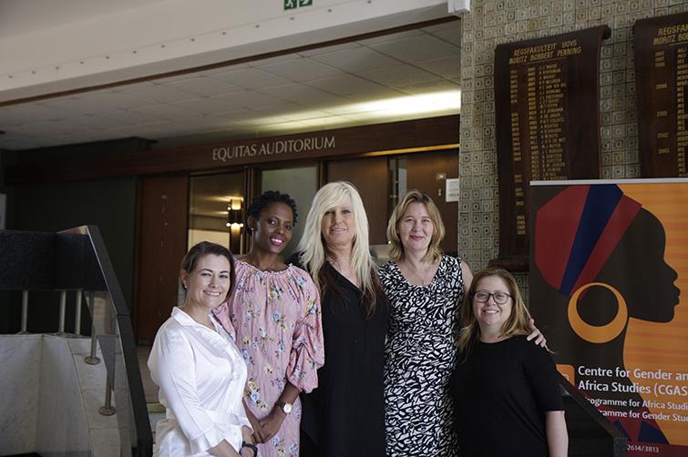 CGAS staff with Jessica Lynn