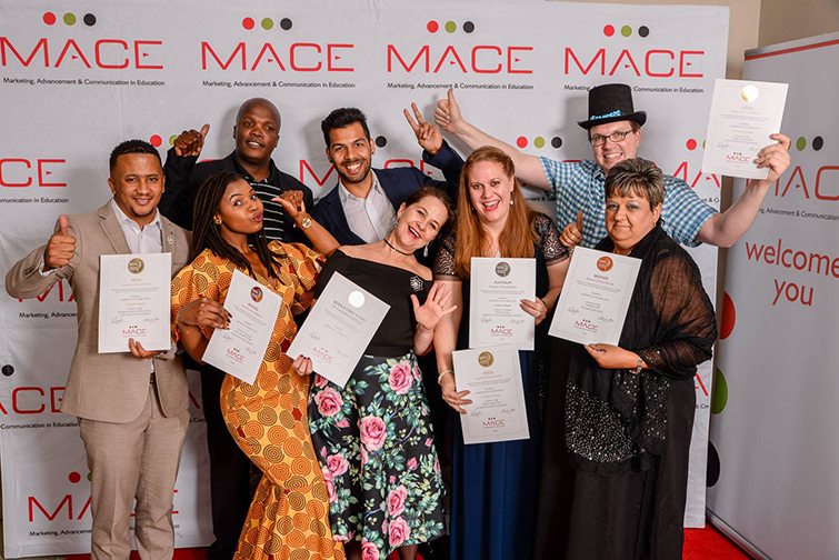 UFS CMD team at the MACE Awards