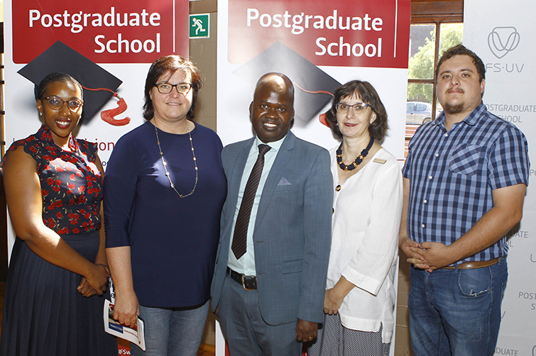 UFS postgraduate welcoming