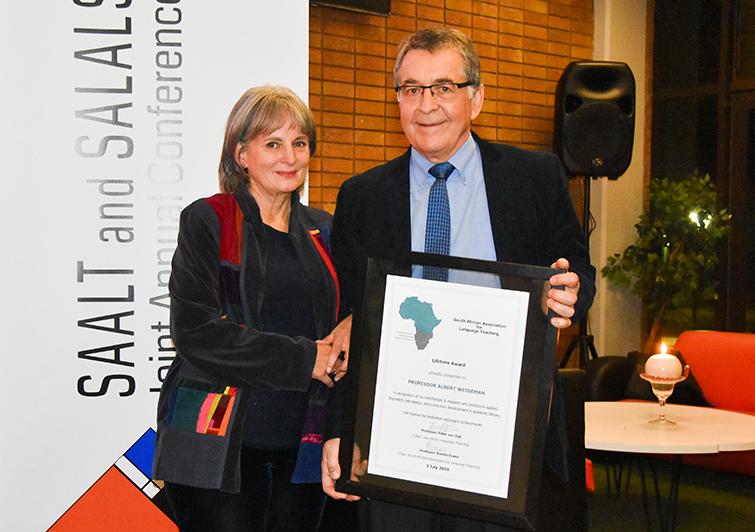 Prof Albert Weideman