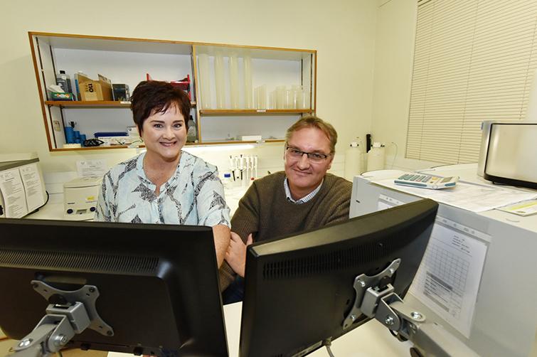 Dr Quinton Meyer and Marlena Visagie