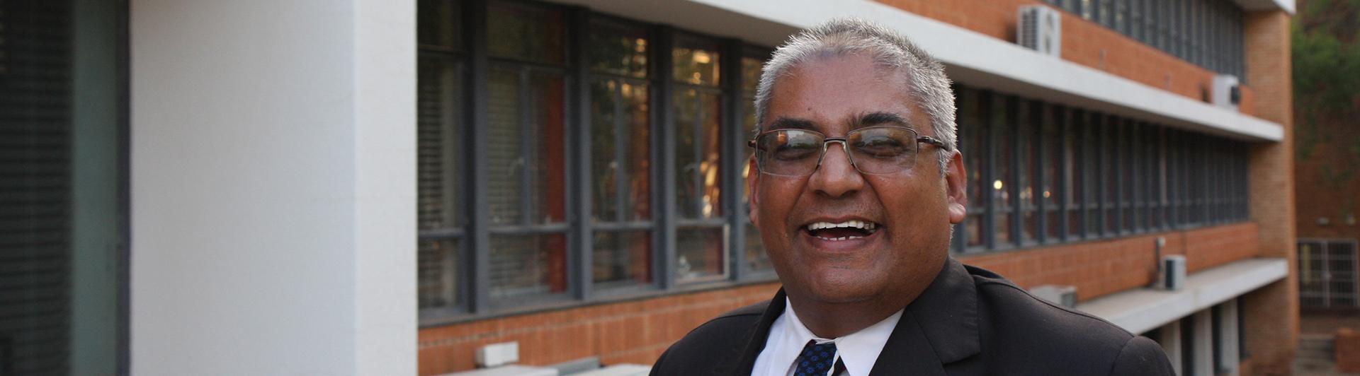 Prof Hussein Solomon