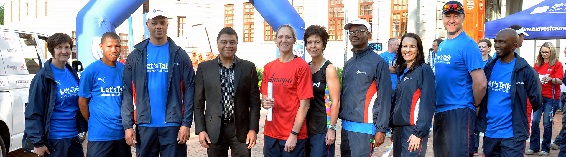 Run to Stellenbosch send off