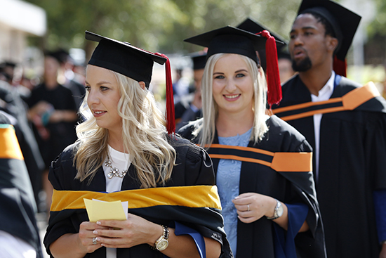 December graduations to conclude the UFS academic year