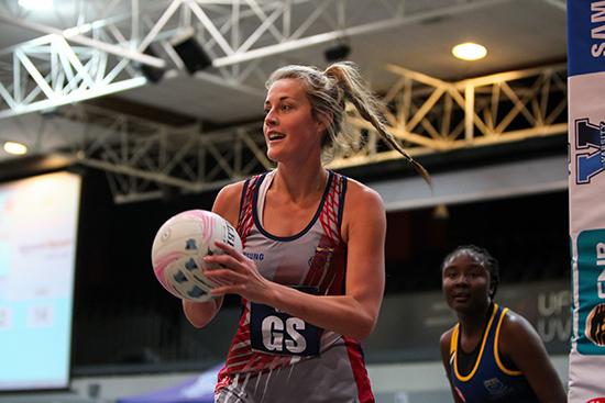 Alicia Puren captain of the Kovsie netball team