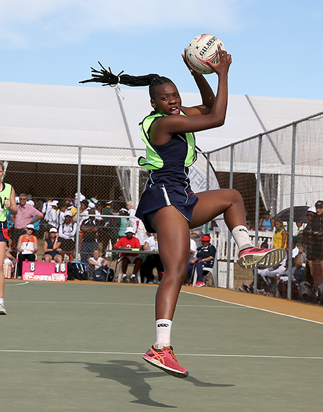 Khanyisa Chawane claims victory as best netball player